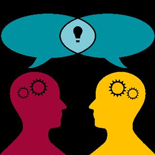Icon Kommunikation und Zielfindung