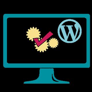 Icon Bildschirm WordPress Test OK