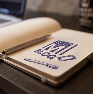 Unser TecMi Webdesign Blog - Block und Stift